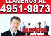 Abogados laborales por capital,consultas gratis,despidos,accidentes,llamadas, envienos whatsapp