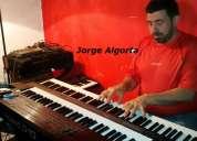 Clases piano,teclados, musica, particulares.