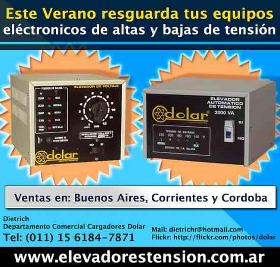 Vendo elevadores de Tension para casas en Corrientes TE.(0379) 154686979