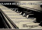 Clases de piano-teclado