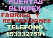 Blindex puertas blindex reparaciones te: 1554505747 service