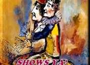 Mago show para fiestas infantiles y de adultos