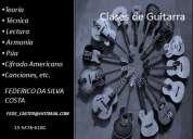 Clases de guitarra zona congreso
