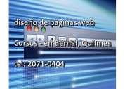 Curso de diseño de paginas web desde cero - bernal quilmes 1562333305