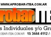 Itba cpc cpa clases particulares
