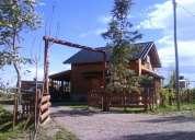 alquiler de cabaña en villa el chocon