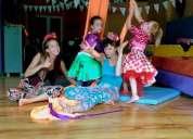 acrobacia aérea, tela trapecio y aro adultos y niños