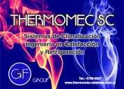 Pruebas hidraulicas thermomec sc sistemas de climatizacion e instalacion de cañerias