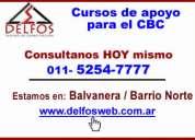 cursos de apoyo cbc matematica  microcentro - tel (52547777) delfosweb