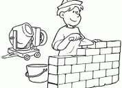 Albañil - trabajos garantizados - construcciones