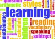 Clases particulares y de apoyo de inglés niños