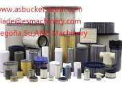 Filtros de aire de aceite excavadora komatsu pc450