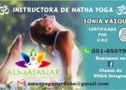 clases de yoga en alta córdoba y cofico