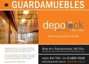 Deposita tus muebles en bauleras privadas
