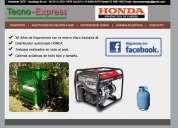 Conversión de grupos electrógenos a gas natural o envasado entregas en canning