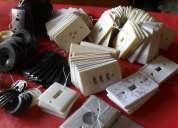 Tapas antiguas para llaves de luz – tomas – timbres coleccionistas y decoradores
