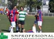 Ambulancias y médicos para futbol. 4774-0041