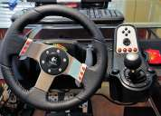Volante logitech g27 racing wheel en rosario exclusivos