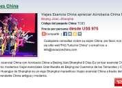 Viajes esencia china apreciar acrobacia china 8 dias segunda mano  Capital Federal