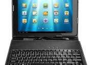 Vendo tablet con funda teclado con flash android 4.2 doble camara wi fi juegoa redes nuevas