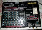 Vendo mixer 18 canales  potencia 200w