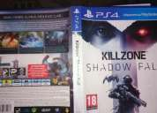 Vendo killzone shadowfall,buen estado!