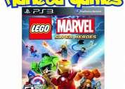 Vendo lego marvel playstation ps3 nuevos caja cerrada