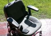 Vendo silla de ruedas eléctrica guardian microlite ruby 11 con batería y manual
