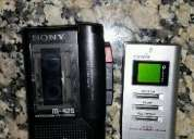 Vendo mini grabador periodista sin uso grabador con mini muy buen estado