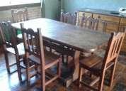 Vendo juego mesa y sillas