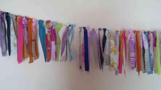 Venta de banderines y guirnaldas de tela o lana capital - Guirnaldas de tela ...
