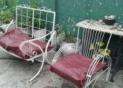 Vendo juego de sillones de jardin