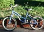 Vendo bicicleta niña color lila,consultar!