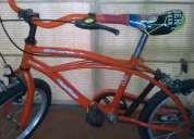 Vendo bicicleta player niño rod.16 c/casco