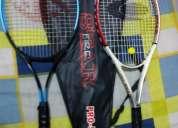 Venta de 2 raquetas de tenis  estuche