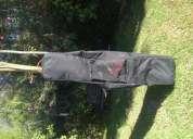 Vendo bolso de snowboard burton con ruedas 162 cm