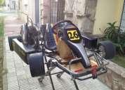 Venta de karting kart mini con motor honda cr80cc