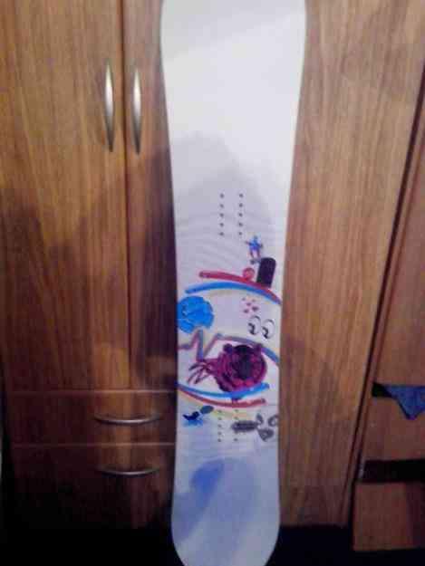 VENDO TABLA DE SNOWBOARD