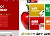 Diseño gratis su website con nombre propio