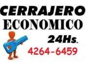 Cerrajeria en temperley 42646459  las 24 horas