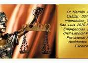 Abogado en posadas misiones penal emergencias 24hs - civil estudio jurídico 0376154379421