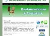 Restaracion de muebles hm entregas en don torcuato trabajos con garantía