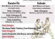 Nintai dojo - clases de karate-do y kobudo - sedes en almagro y caballito - escuela renshukan