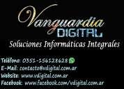 Servicio técnico reparación pc y notebook a domicilio vanguardia digital