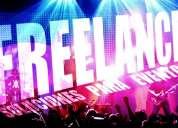 Freelance: soluciones para eventos