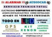 Alarmas maqui audio car estereos parlantes ventas instalaciones servicio tecnico gps