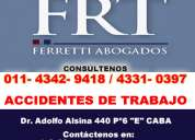 abogados accidentes de trabajo  lanus este | ferretti abogados | tel [4342-9418] a.r.t