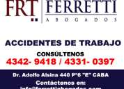Ferretti abogados | abogados accidentes de trabajo zona lanus oeste telef [43429418]