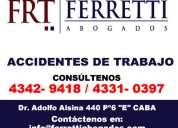 Ferretti abogados | factores de riesgo laboral zona lanus oeste telef 43429418