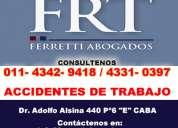 Ferretti abogados | accidentes de trabajo abogados  lanus  tel [4342-9418]